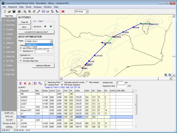 Altitude and Flight Optimisation